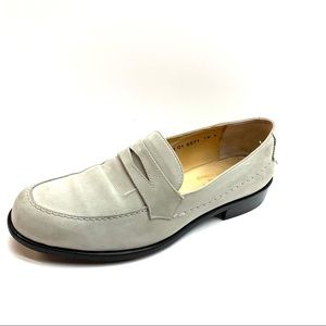ROBERT CLERGERIE Nan Suede Loafers, 6.5